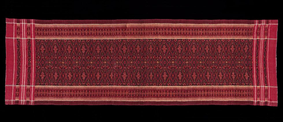 1940-60s Bali people, sacred ceremonial cloth,