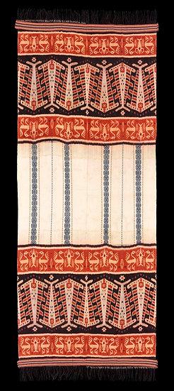 2014 Hinggi Pahikung Pataduku, man's ceremonial shawl