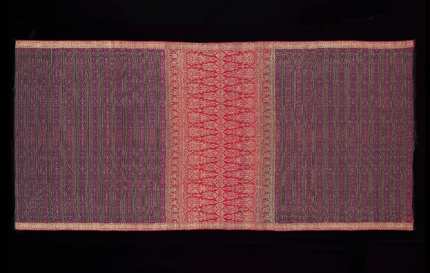 1850s Kain Limar Bersongket Sarong