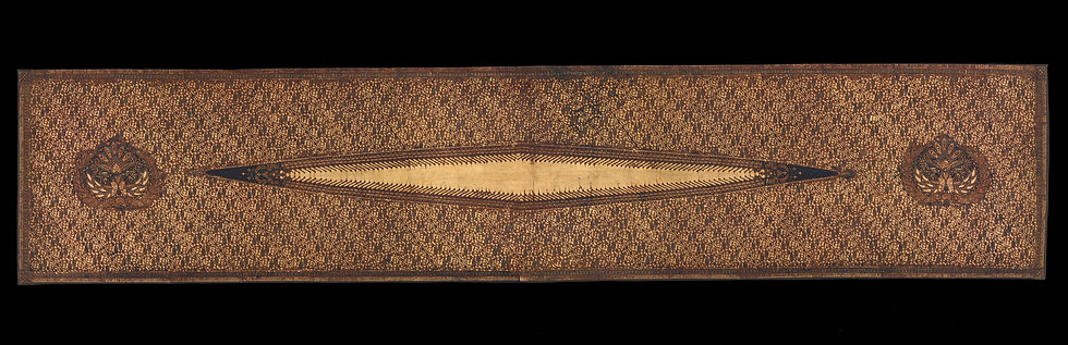 1930-40s Kemban Batik Tulis, woman's breast cloth