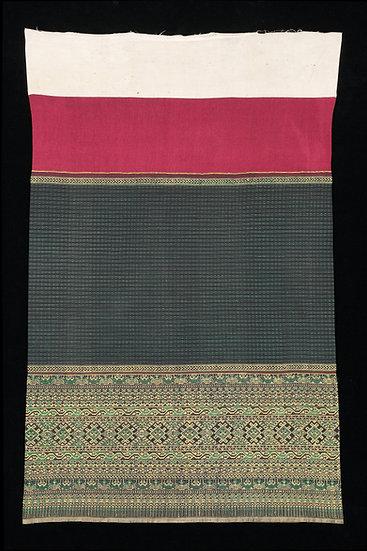 1930s-40s Phaa Sin Tiin Chok, woman's tube skirt