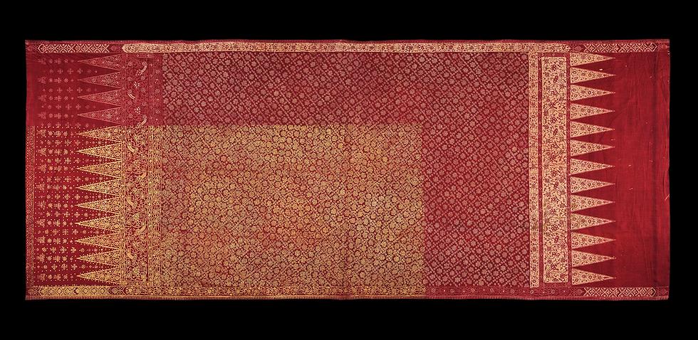 1850-1900 Sembagi Kain Panjang Batik Tulis