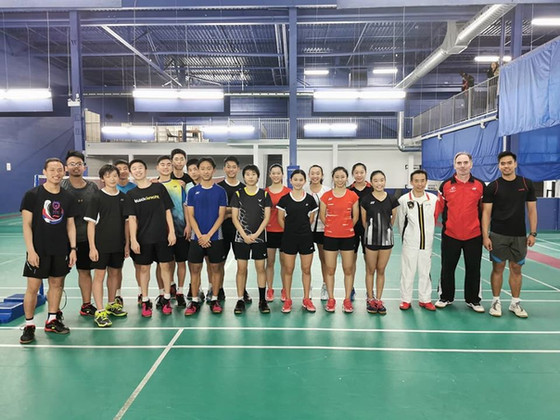OBA honor to host National Junior Team Training by Badminton Canada
