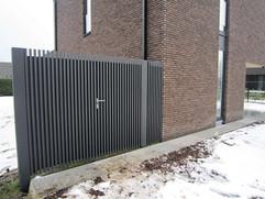 Realisatie automatische poort