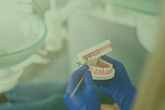 reiniging van tandprotheses