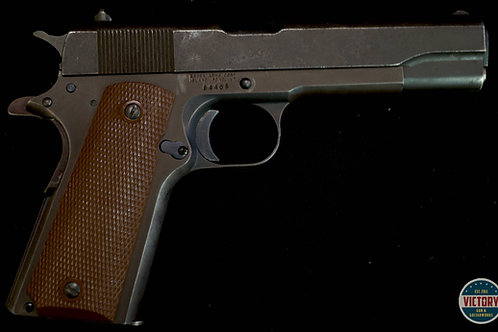 Essex/Remington Rand slide .45acp pistol