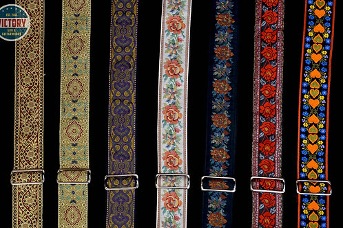 Hand-Stitched Jodi Head Guitar Straps