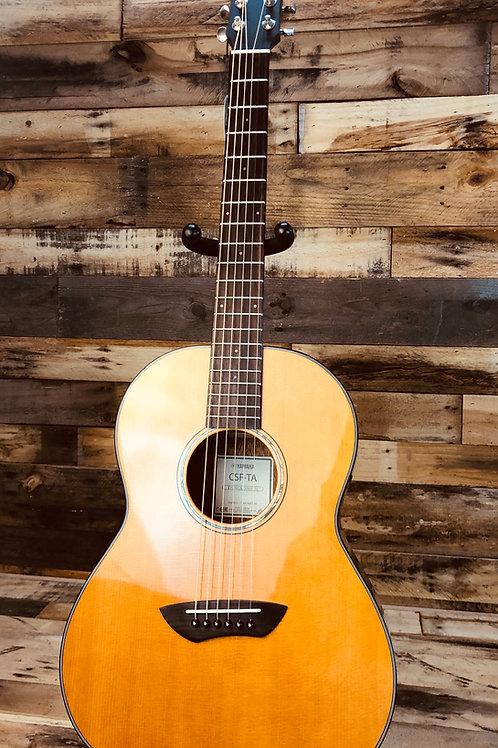 Factory New Yamaha CSF-TA TransAcoustic Parlor Guitar