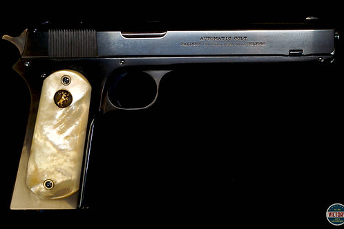 Colt 1902 Military Turnbull Restoration .38  w/ Letter Pearl Grips