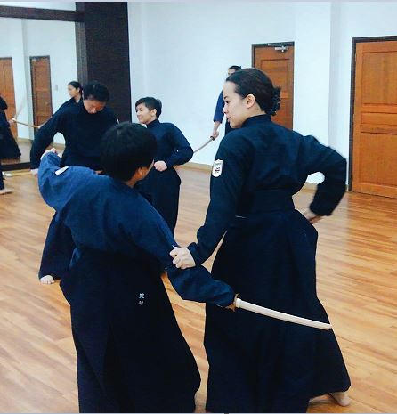 Tankendo at Hamachidori Dojo