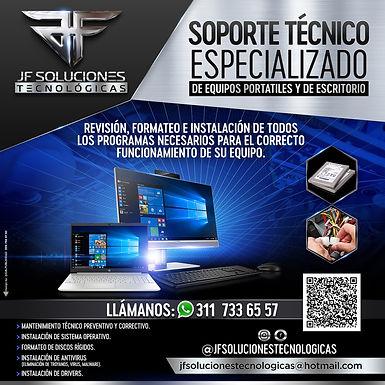 JF SOLUCIONES TECNOLOGICAS