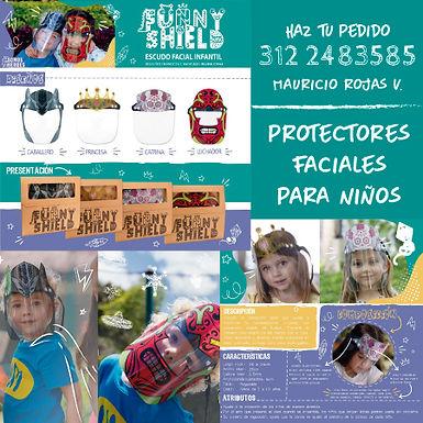 Protectores Faciales para Niños
