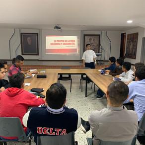 ULTIMO ENCUENTRO VOCACIONAL- SEMINARIO PADRE MANYANET DE MEDELLÍN. NOV 1-4, 2019