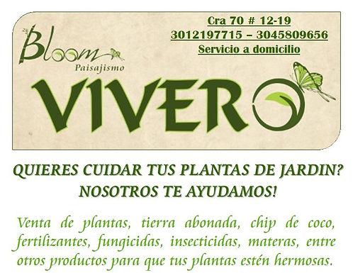Bloom Vivero