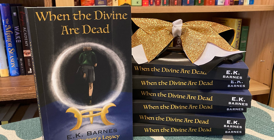 (*SIGNED* Paperback) When the Divine Are Dead