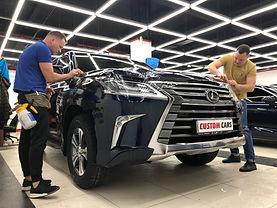 Антигравийная пленка Llumar Lexus 570