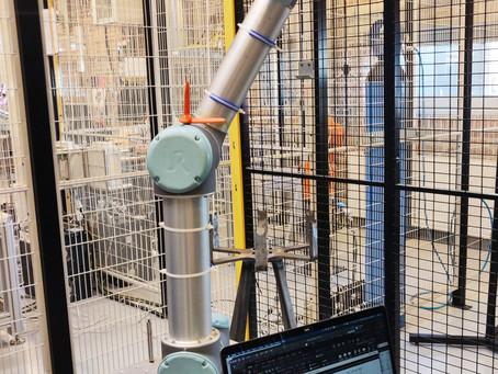 Reliability test of MOTI vs. production robot