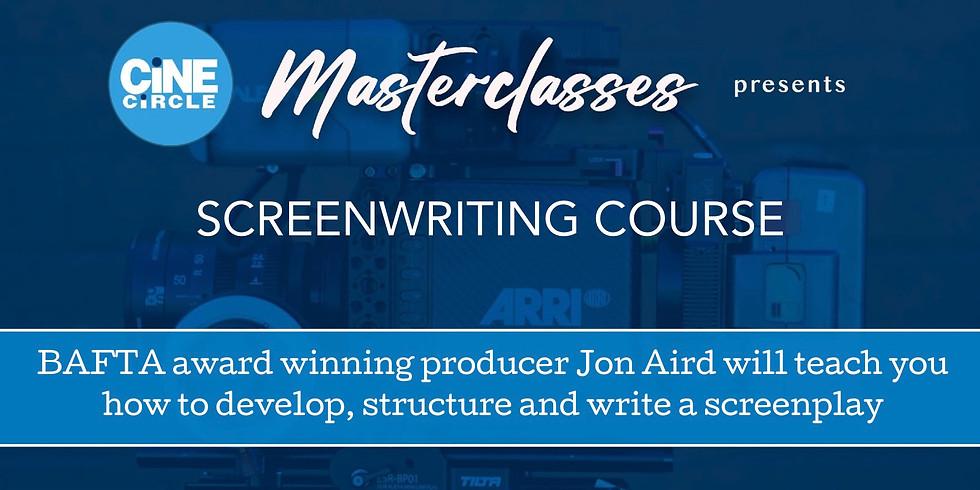 Screenwriting Course with BAFTA Award Winning Producer