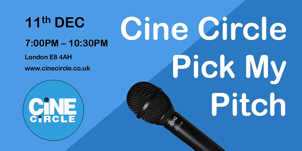 Cine Circle - Pick My Pitch