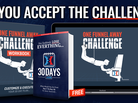 Have you heard about the 30 day Funnel Challenge?