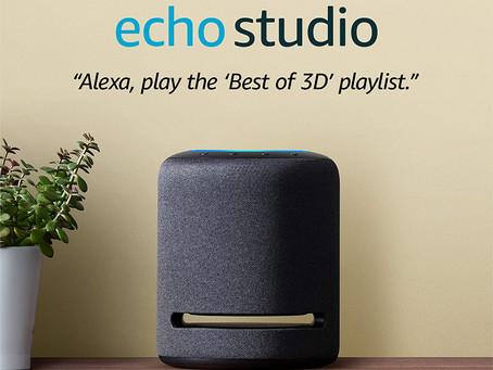 Introducing Echo Studio | High-fidelity smart speaker with 3D audio and Alexa