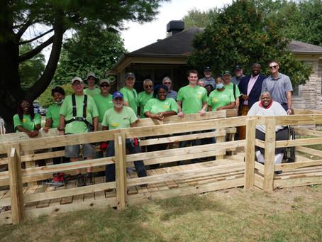 Servants at Work and Rehab Medical Complete Milestone Ramp Build