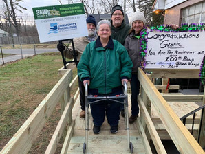 SAWs Changes Lives for Hoosiers by Building Ramps for In-Need Mobility Users