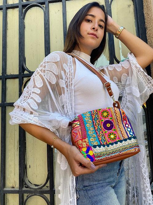 Polly Cross/Waist Bag Camel