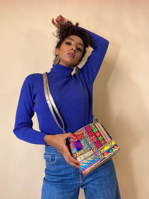 Polly Cross/Waist Bag Champagne