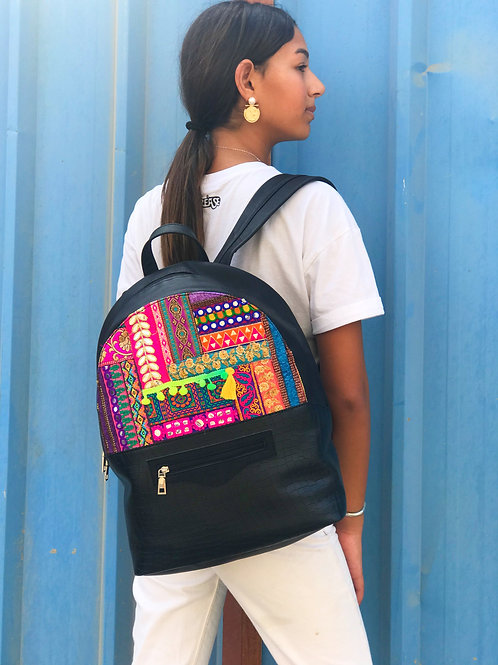 Carry-all backpack Black