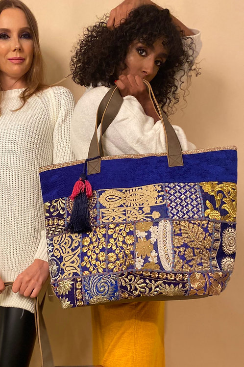 The Blue Majestic Tote Bag