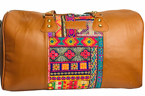 The Classic Weekender Bag Camel