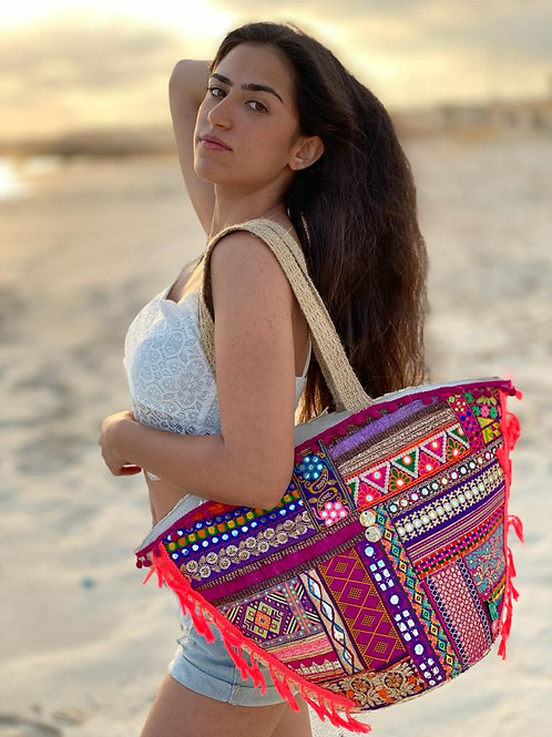 Ultra-glam Beach Bag
