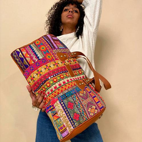 The Full Weekender Bag Camel
