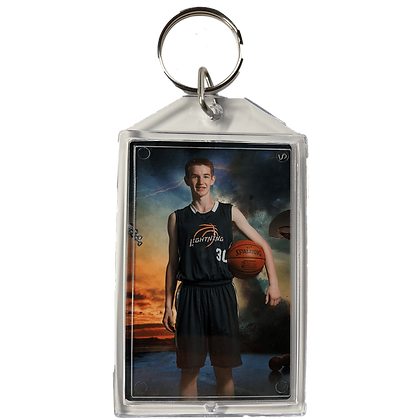 Q2. Large Acrylic Player Key Chain
