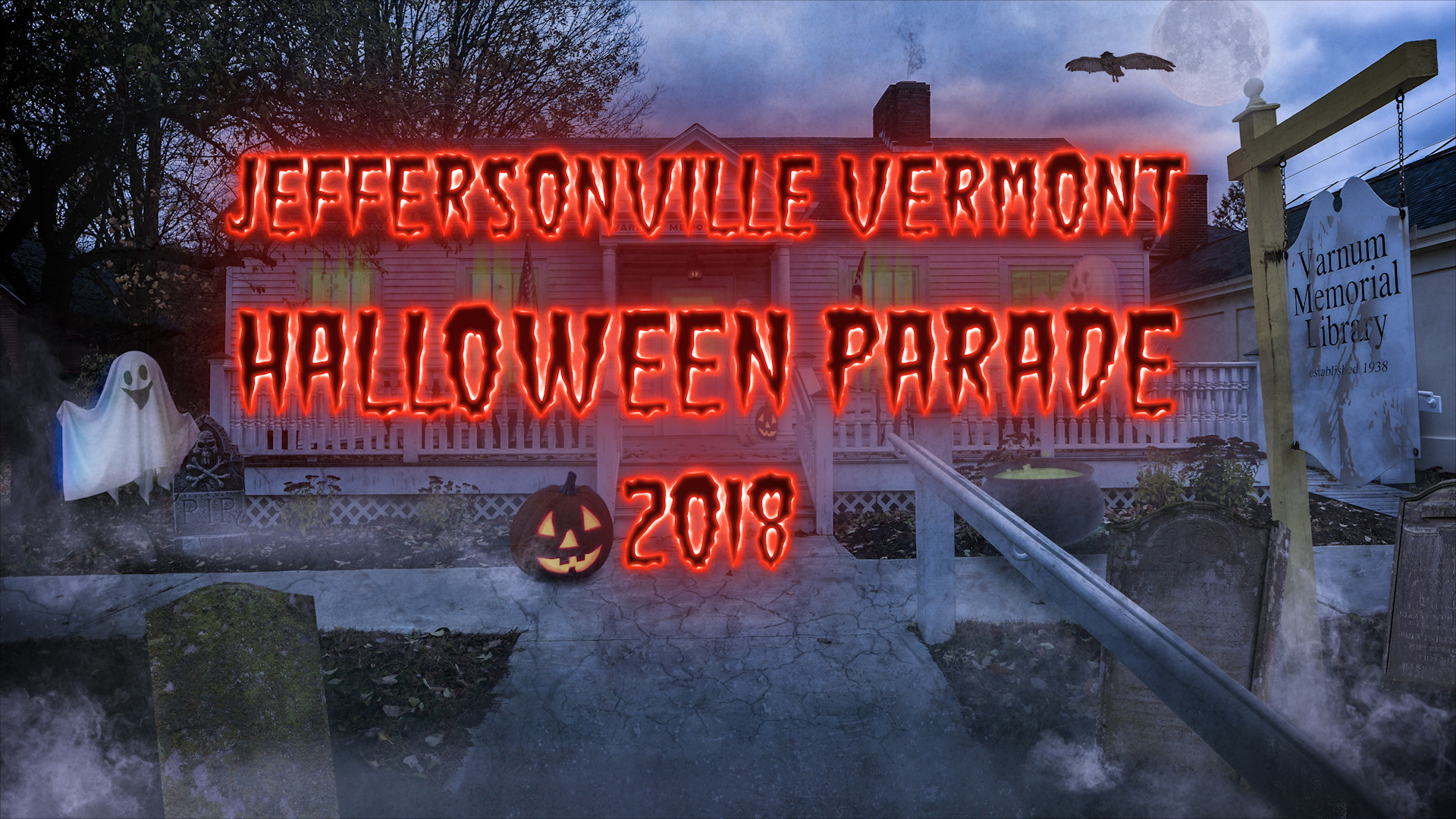 Vermont Halloween Parade Video