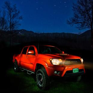 TRD Pro at Night