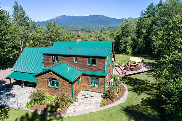 Luxury Real Estate Aerial Photos in Vermont