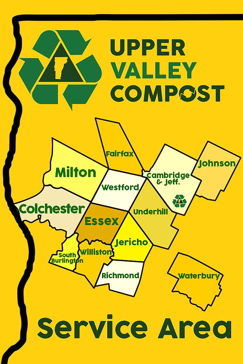 Upper Valley Compost Vermont Service Areas