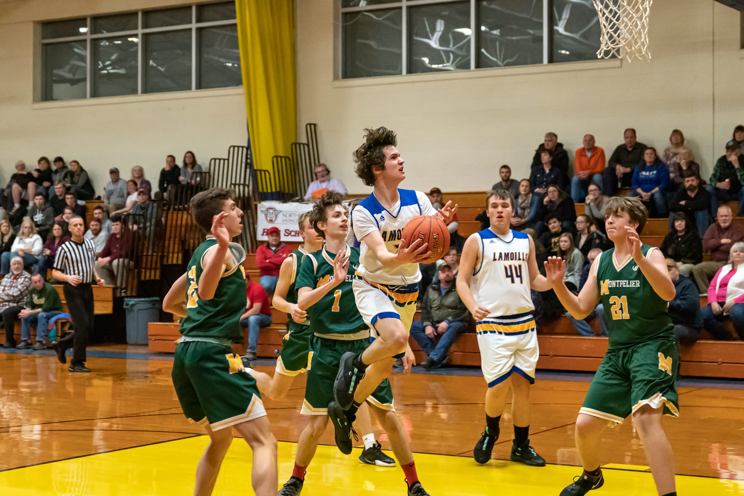 LUHS Boys Basketball v. Montpelier