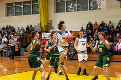 LUHS Boys Basketball v. Montpelier