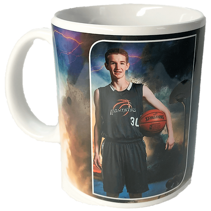 W1. Ceramic Player Photo Mug