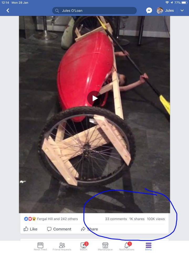 Viral rolling machine 108,000 views