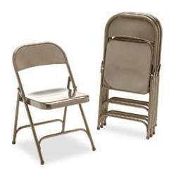 Tan Metal Chairs