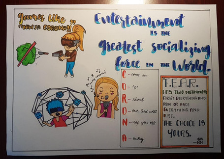 Future Of Entertainment, Lisha Cutinha, 9D, GEMS Our Own Indian School