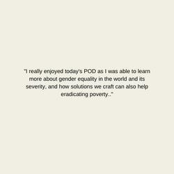 Gender Equality Pod