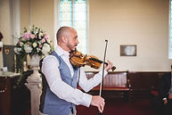 Craig Halliday wedding Violinist in Church