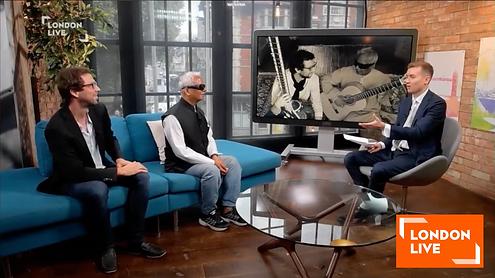 Ignatio Lusardi Monteverde and Baluji Shrivastav interviewed on London Live.