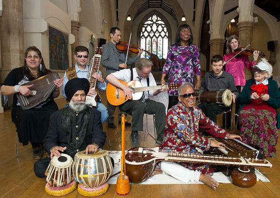 Baluji with his Inner Vision Orchestra.j