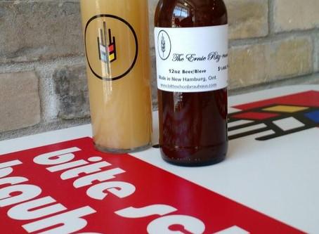 Meet Our New Beer - The Ernie Ritz Hopaweizen!